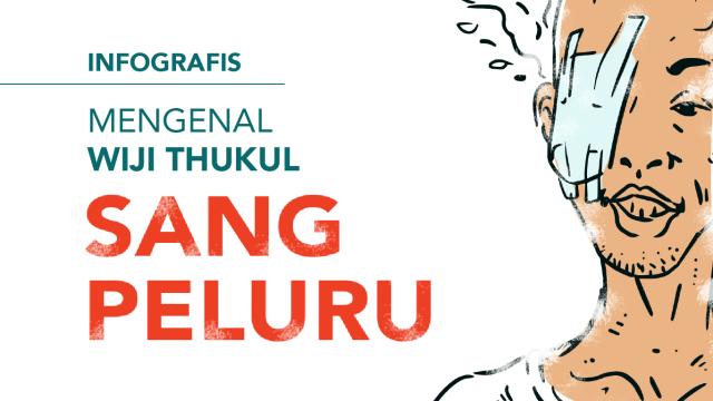 Cover Infografis Wiji Thukul Sang Peluru