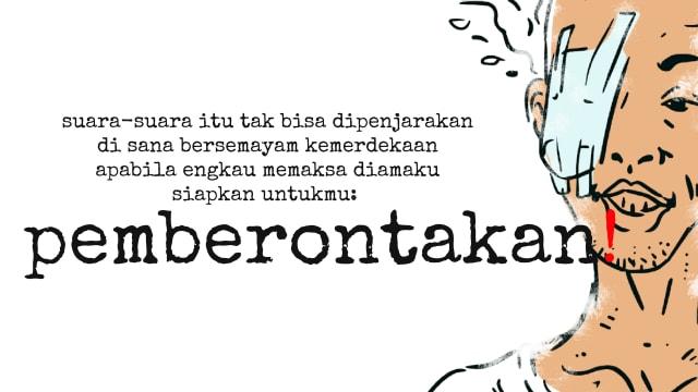 5 Puisi Wiji Thukul Yang Menggetarkan Hati Kumparan Com