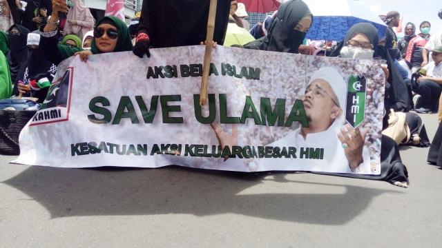 Dukungan untuk Habib Rizieq