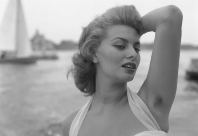 Ketiak Sophia Loren