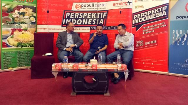 Diskusi Populi Center dan Smartfren
