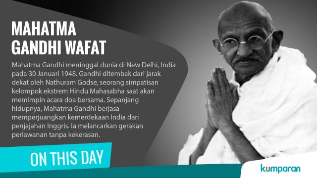 Kisah Mahatma Gandhi, Bapak Antikekerasan yang Menginspirasi (10347)