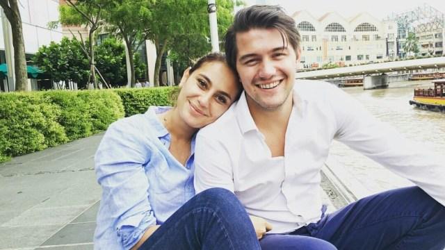 Marissa Nasution berlibur dengan kekasih baru
