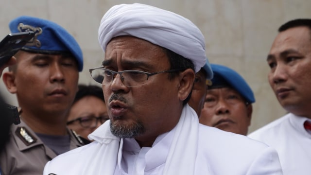 Habib Rizieq Divonis 8 Bulan Penjara Terkait Kerumunan Petamburan (72500)