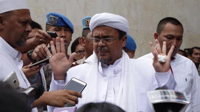 Hakim Kasus Megamendung Habib Rizieq: Ada Diskriminasi Kasus Pelanggaran Prokes (60981)