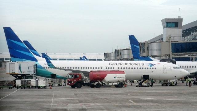 Kemenhub Beri Sanksi Garuda Indonesia (59886)