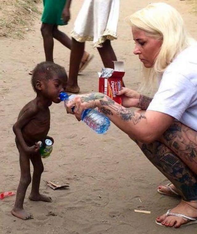 Tanda Seorang Bocah Dianggap 'Penyihir' di Afrika (712901)