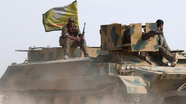 SDF merangsek ke Raqqa