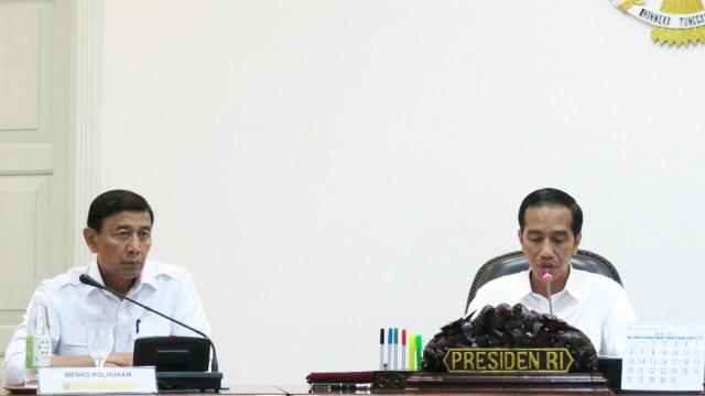Wiranto dan Jokowi