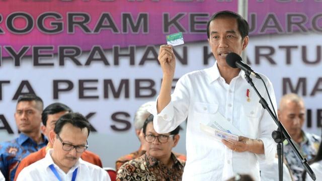 Jokowi di Ambon