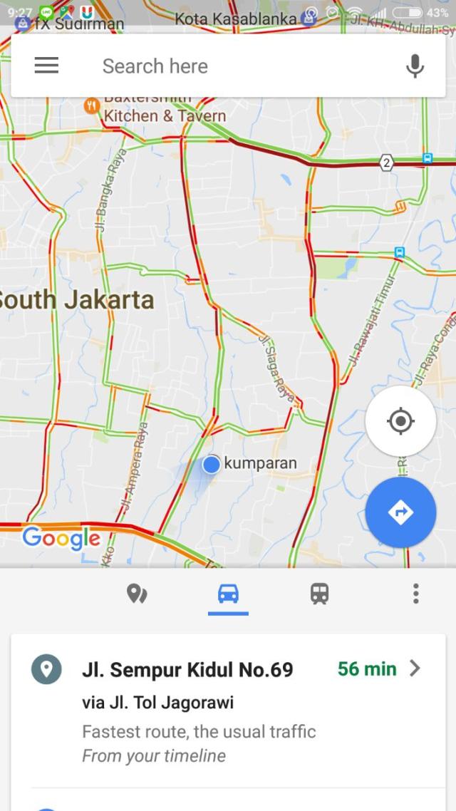 Google Maps Siapkan Fitur Baru Agar Pengemudi Tak Kebut-kebutan (80631)