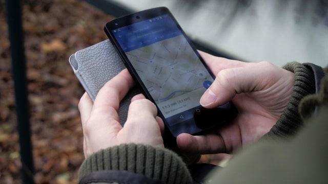 Google Maps di ponsel