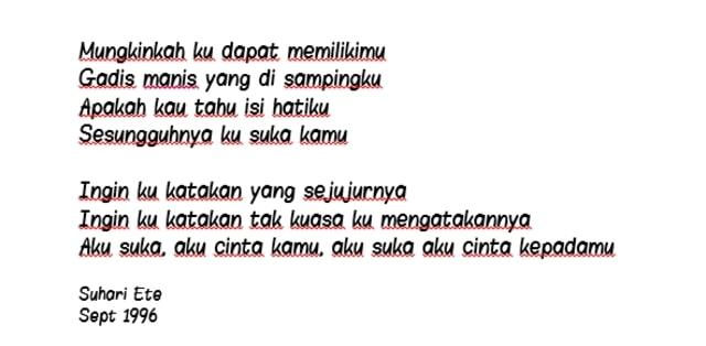 Surat Cinta Widya Kumparancom