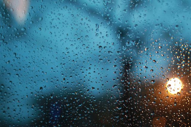 Potret tetes hujan