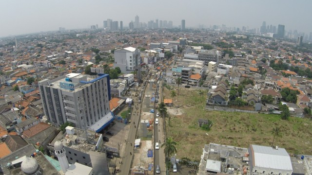 Pembangunan konstruksi Mass Rapid Transit (MRT)