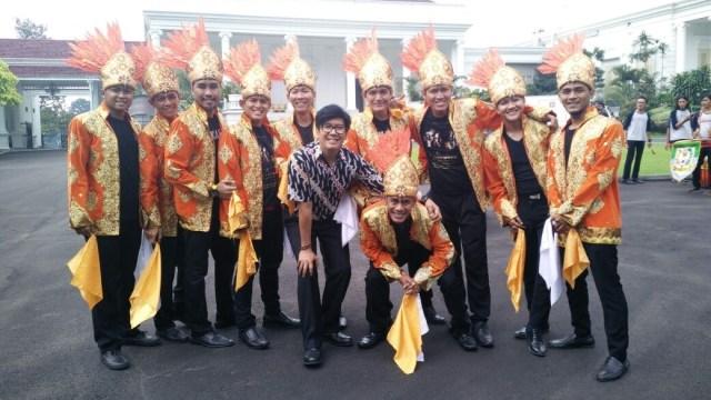50 Penari Hibur Raja Salman di Istana Bogor (21986)