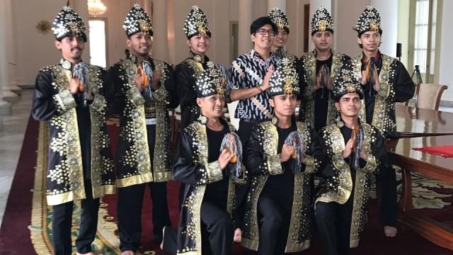50 Penari Hibur Raja Salman di Istana Bogor (21987)