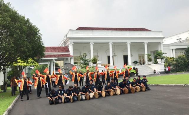 50 Penari Hibur Raja Salman di Istana Bogor (21988)