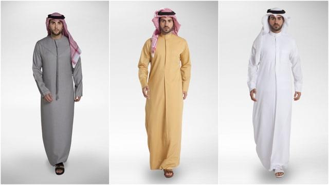 Ketahui Perbedaan Gamis Yang Dikenakan Pria Arab Di 5 Negara Ini