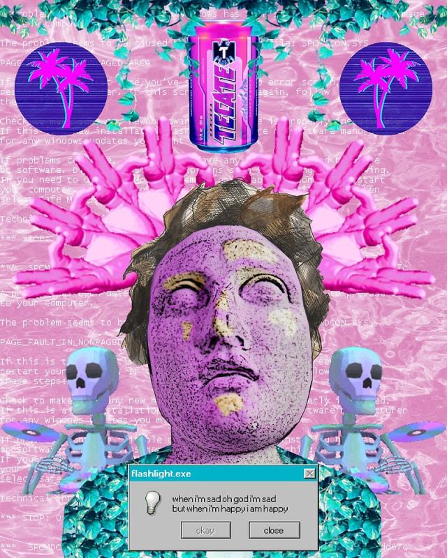 Mengenal Istilah Vaporwave Ͻï½…sthetic Kumparan Com
