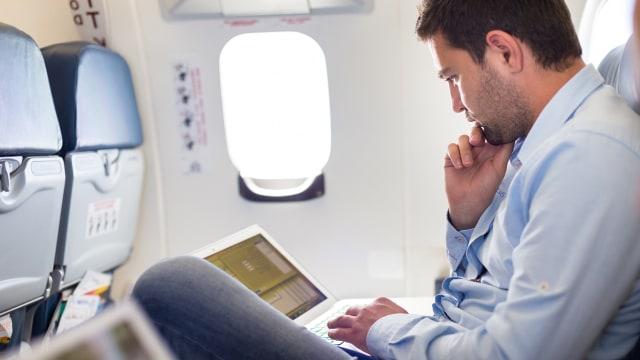 Wi-fi Gratis di dalam pesawat