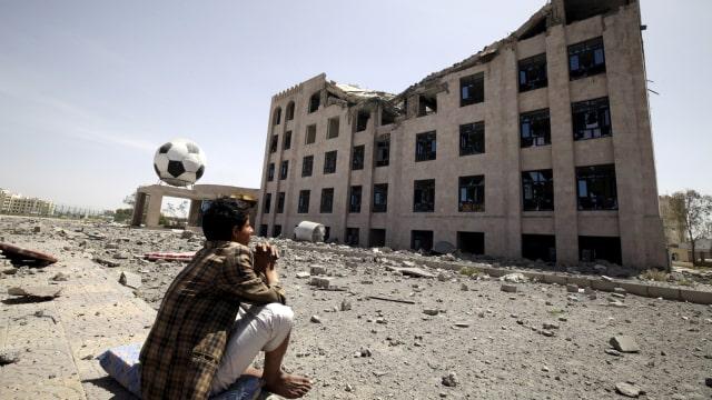 Pemberontak Houthi di Yaman.