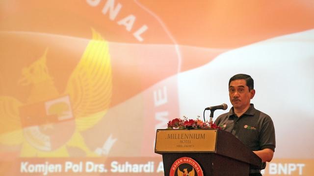 Kepala BNPT, Komjen Pol Suhardi Alius