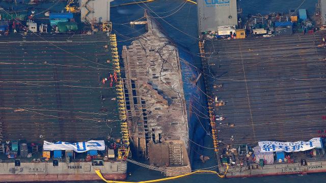 Fakta tentang Kapal Feri Sewol yang Tenggelam 6 Tahun Lalu (40547)