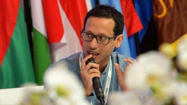 Pendiri sekaligus CEO Go-Jek, Nadiem Makarim