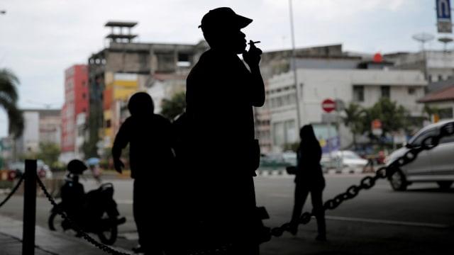 Potret Rokok di Jakarta