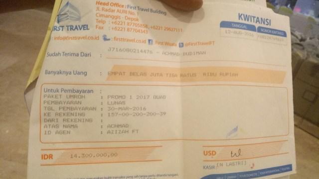 Polemik Keberangkatan Umrah di First Travel (579200)