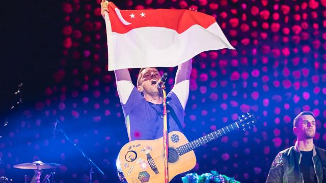 Untuk Keempat Kalinya Ronal Surapradja Nonton Konser Coldplay (54975)