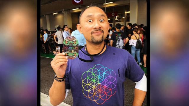 Untuk Keempat Kalinya Ronal Surapradja Nonton Konser Coldplay (54974)