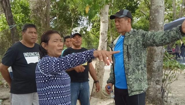 Susi berdialog dengan Mayjen TNI Doni Monardo