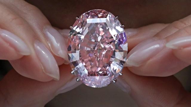 Berlian Pink Star