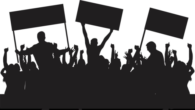 Ilustrasi kampanye hitam