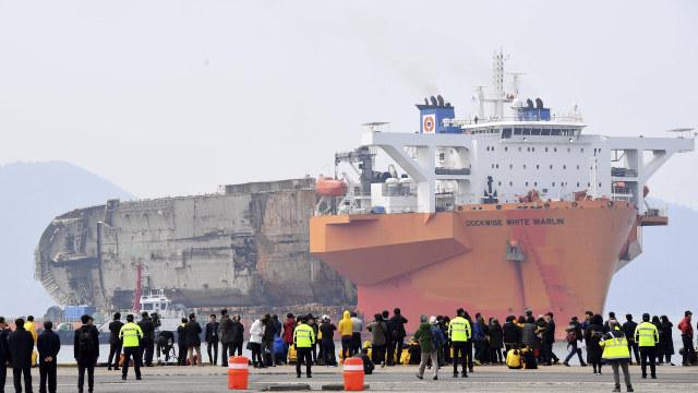Fakta tentang Kapal Feri Sewol yang Tenggelam 6 Tahun Lalu (40550)