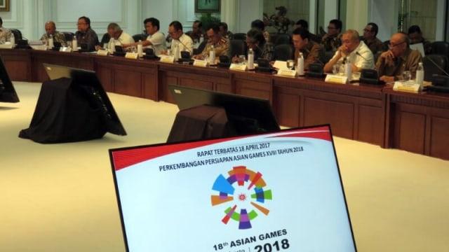 Rapat Terbatas Soal Asian Games XVIII