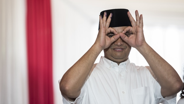 Anies Baswedan (Foto: M Agung Rajasa/Antara)
