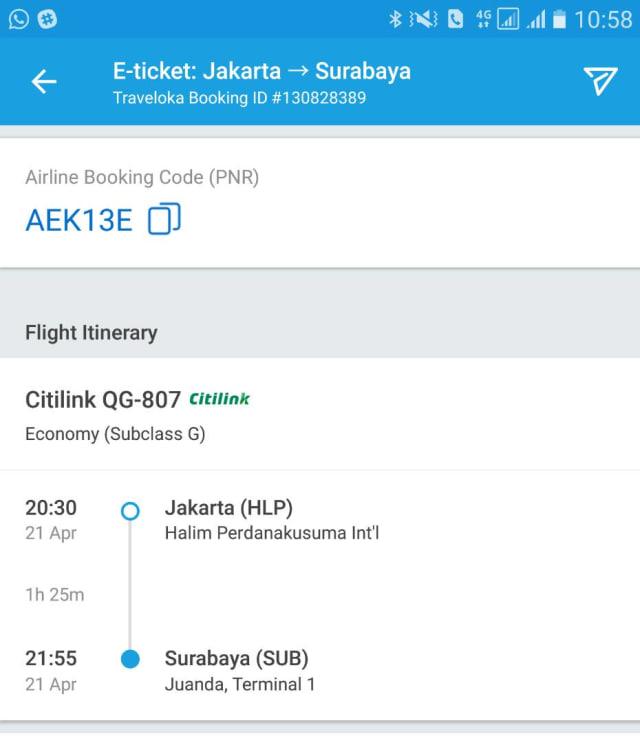Pesawat Citilink Rute Jakarta Surabaya Dari Bandara Halim