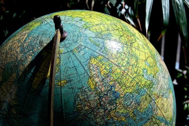 Ilustrasi Peta Bumi