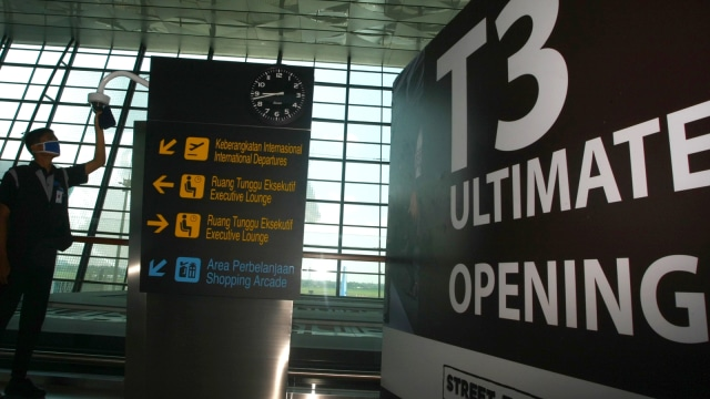 Terminal 3 Internasional Bandara Soetta