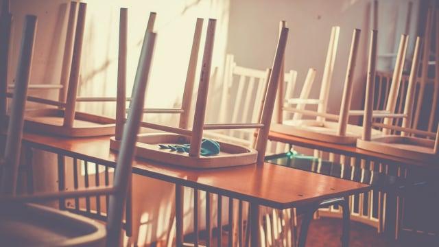 Saat Membersihkan Sekolah Dijadikan Hukuman untuk Mendisiplinkan Murid (370639)