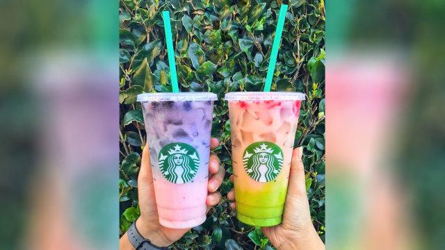 Bikin Pusing, Barista Starbucks Ini Terima Pesanan Minuman Pakai Puluhan Topping (411181)