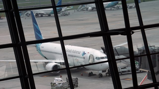 Garuda Indonesia di Terminal 3 Bandara Soetta