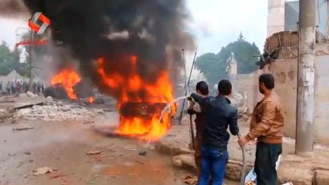 7 Orang Tewas Akibat Ledakan Bom di Barat Laut Suriah  (70263)