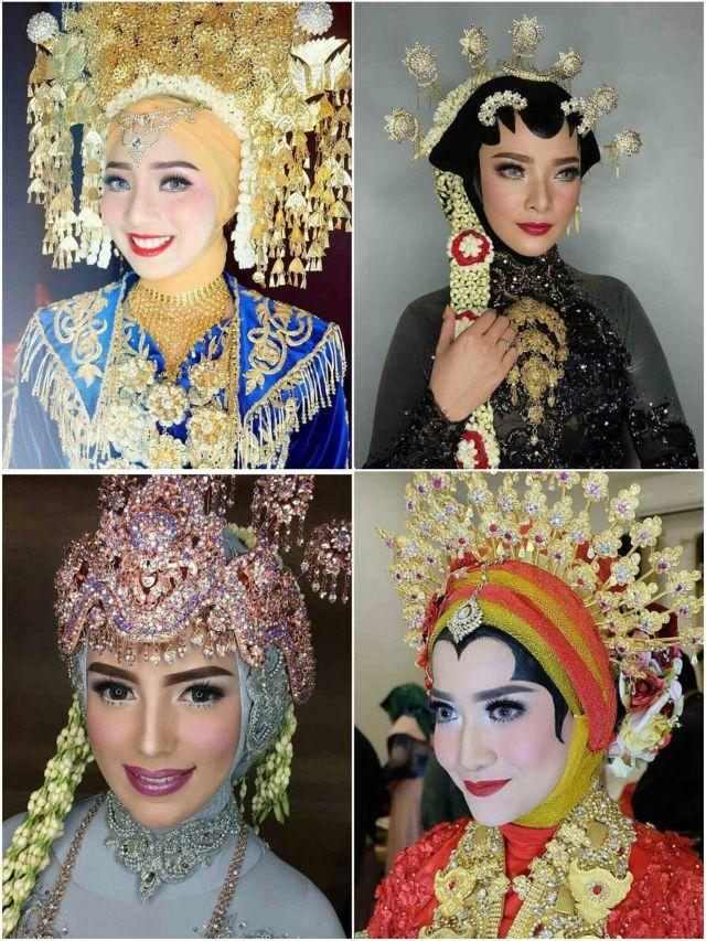 20 Inspirasi Hijab Pengantin Tradisional Kumparan Com