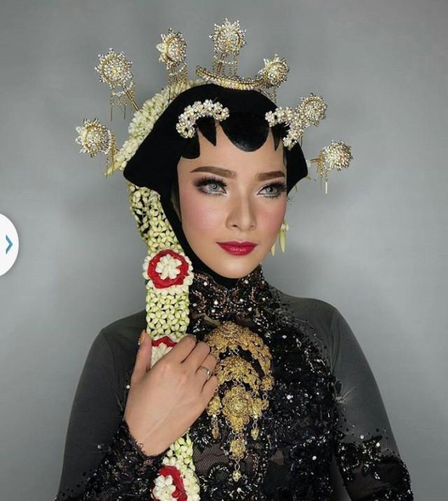20 Inspirasi Hijab Pengantin Tradisional Kumparancom