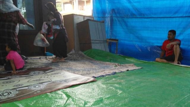 Kondisi Penampungan Korban Tsunami Aceh yang Minta Disuntik Mati (12714)
