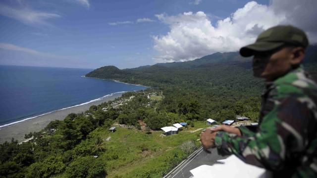 Batas Indonesia-Papua Nugini, PLBN Skouw